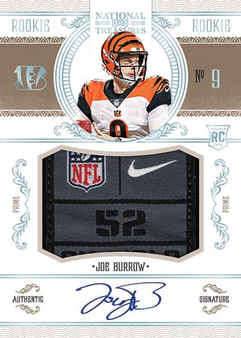 2020 National Treasures Football Preview