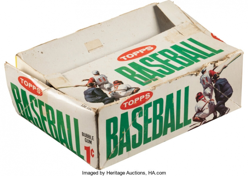 Heritage to Offer Near Complete Box of 1964 Topps Penny Packs